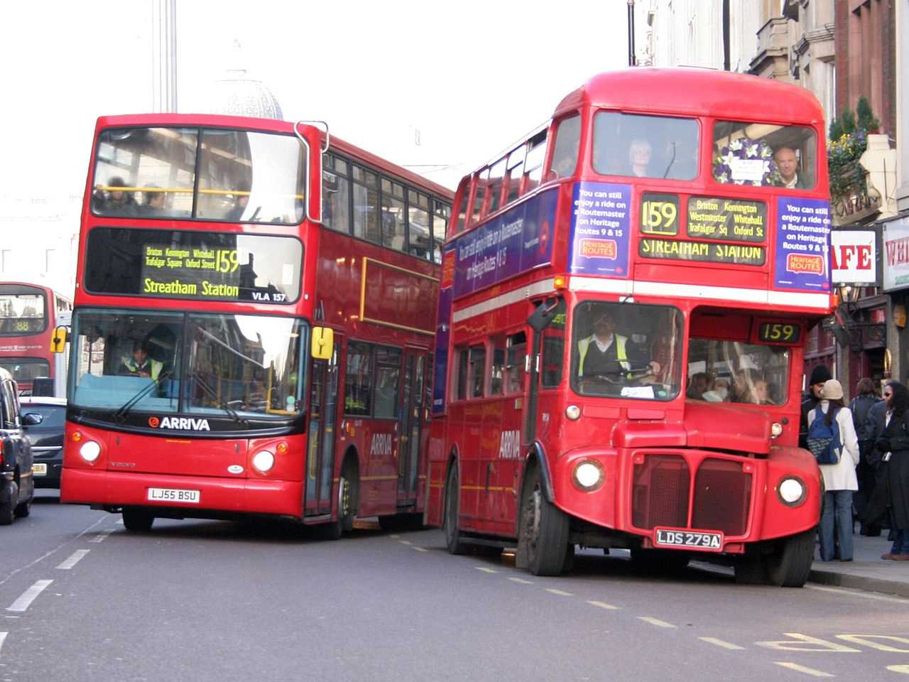 They're on every London street corner, and they take away the blue, green, and yellow light, leaving just red. Image by Jon Bennett, sourced from Wikipedia.