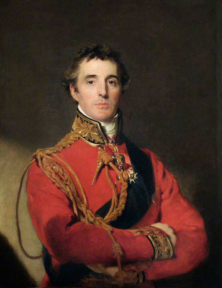 The Duke of Wellington looking pleased with himself. Whether for wining the Battle of Waterloo or saying his famous quote, I cannot say.