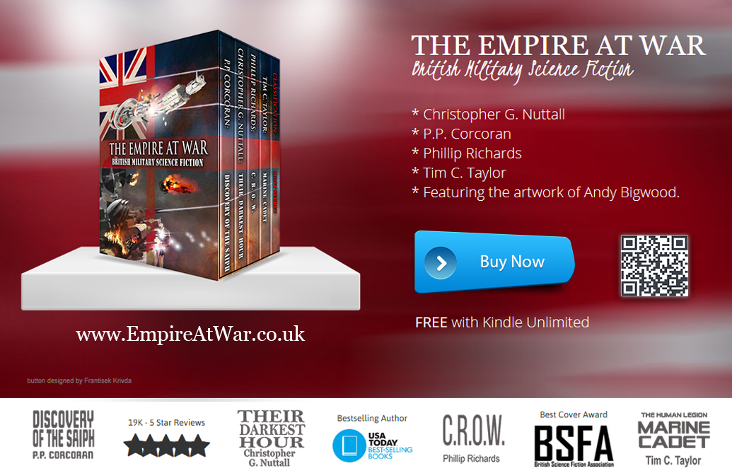 Box Set Advert with QR and website